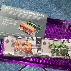 Urban Decay Authentic Born To Run PR Package